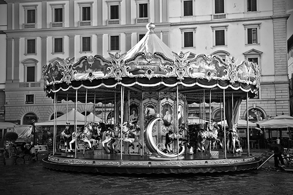 """Florence Carrousel - Italy   Photographic Print   16""""x24""""  Print $365  22""""x30"""" Framed $500"""