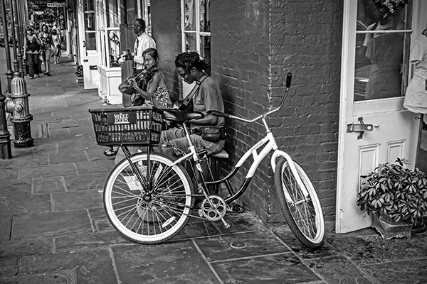 "Jammin - New Orleans   Photographic Print  12""x18"" Print $365  22""x30"" Framed $500"