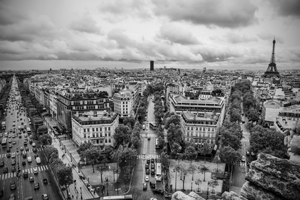 "Paris - France   Photographic Print   16""x24""  Print $365  22""x30"" Framed $500"