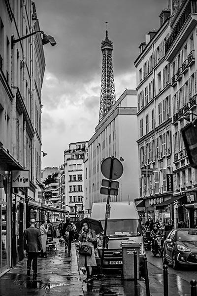 "Phone Call and a Smoke - Paris   Photographic Print   16""x24""  Print $365  22""x30"" Framed $500"