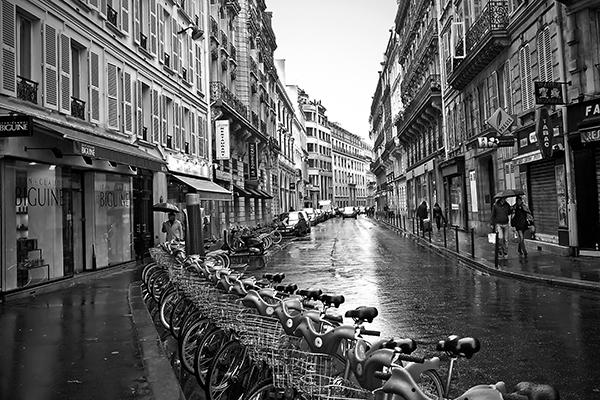 "Rainy Day - Paris   Photographic Print   16""x24""  Print $365  22""x30"" Framed $500"