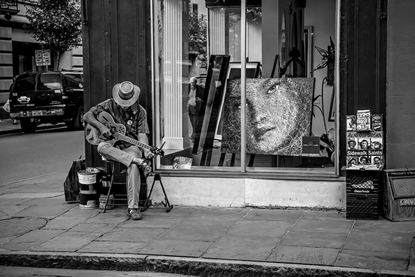 """Tuning - New Orleans   Photographic Print   16""""x24""""  Print $365  22""""x30"""" Framed $500"""