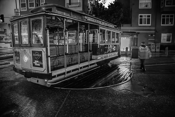 "Turning the Car - San Francisco   Photographic Print   16""x24"" Print $365  22""x30"" Framed $500"