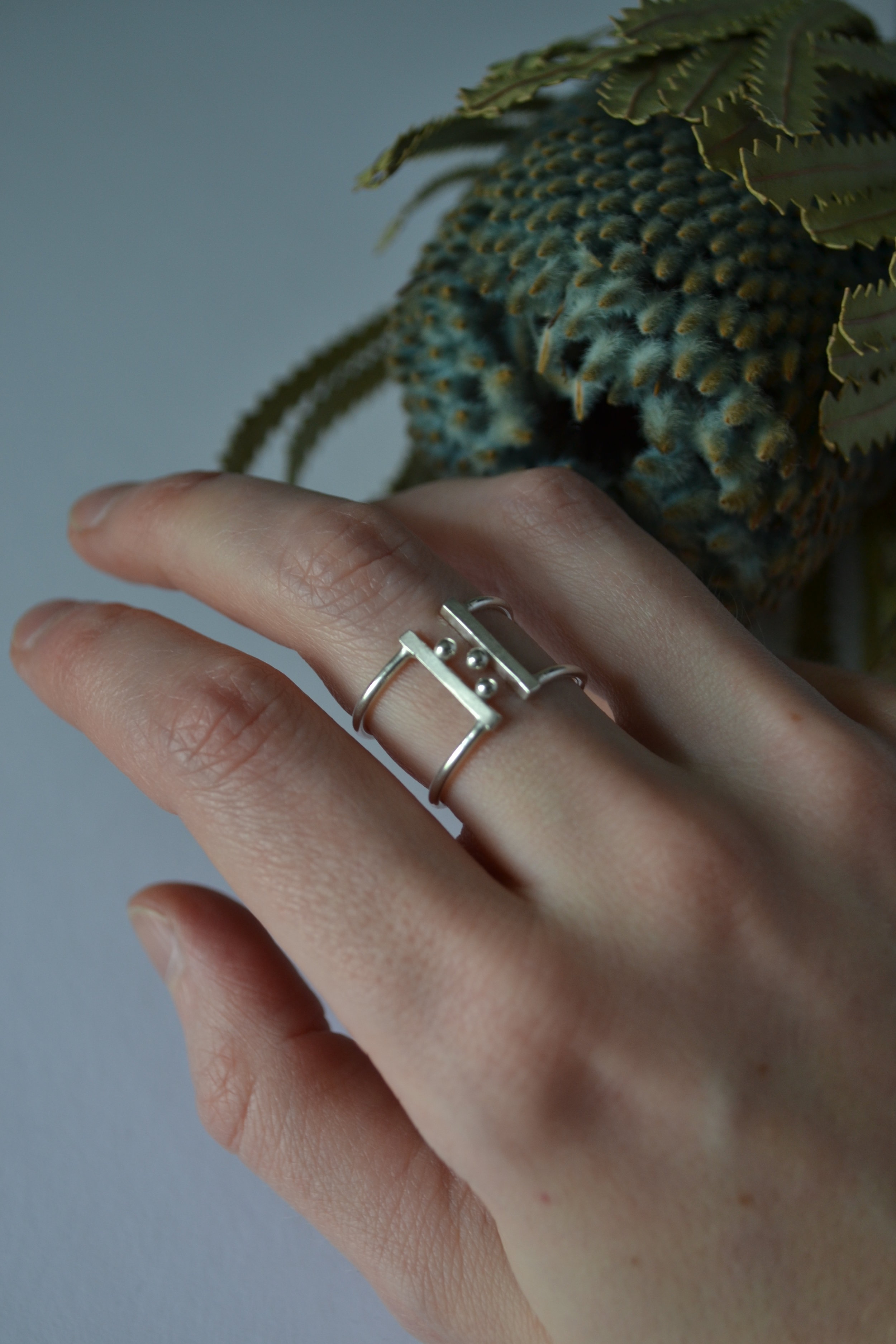 Rings of the Burnished Collection -