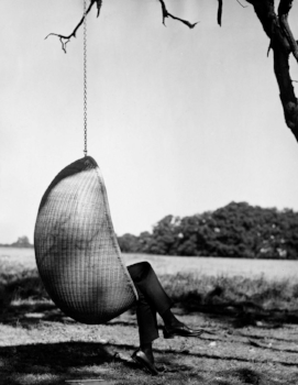 Hanging chair by Nanna Ditzel Danish design