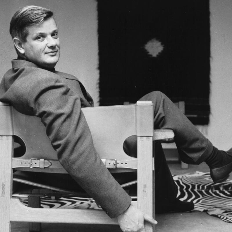 Børge Mogensen on Spanish Chair