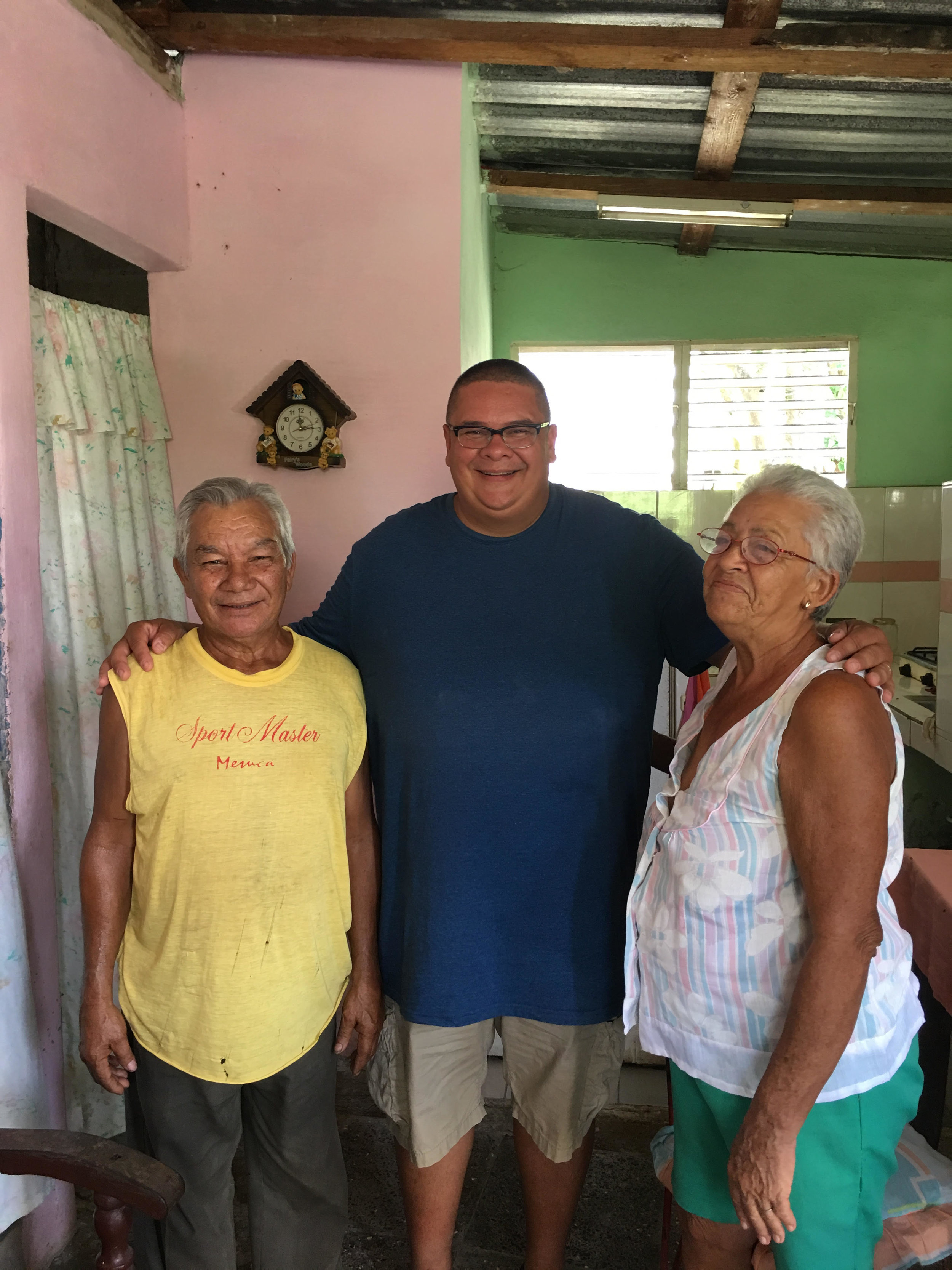 A couple we were able to share Christ with while in Cuba.