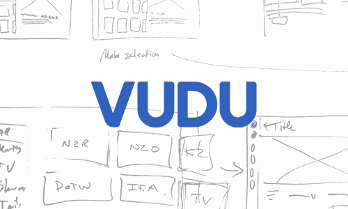 VUDU Windows10 Universal App   UX/UI Design