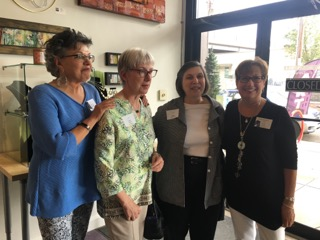Denise Sawan, Caruso,Cathy Thome Larchey, Becky Clemente  and  Carol Lanza Simmons.