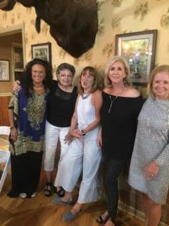 Pam Zimmerman Woodruff, Denise Sawan Caruso, Pam Ragsdale Ferrari, Julie Duzy Greenbank  and  Kathy McGarry Wilson.