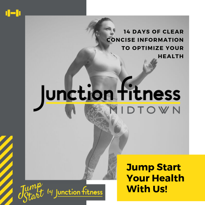 Junction Fitness Hub 5 year anniversary celebration July 13, 2019 8am to 1pm