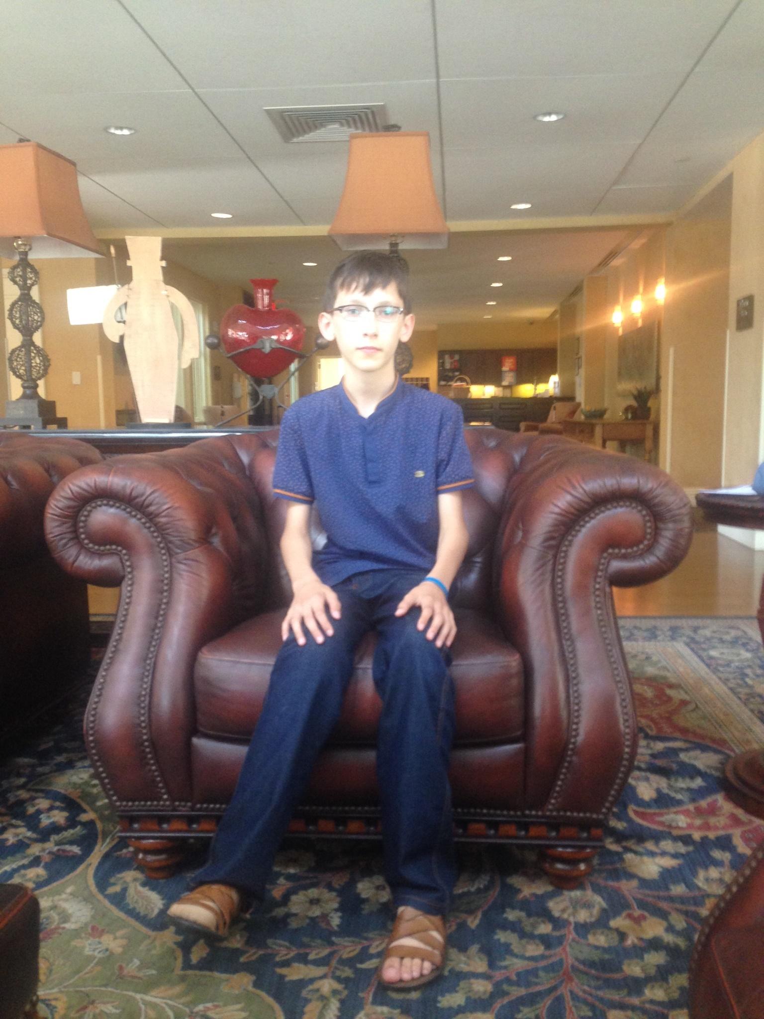 I Want To Walk -Deni at Texas Scottish Rite hospital - July 2014.JPG
