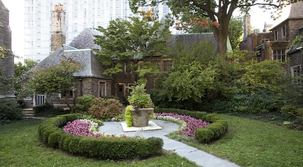 Ogilvie House Garden at The Cathedral of Saint John the Divine