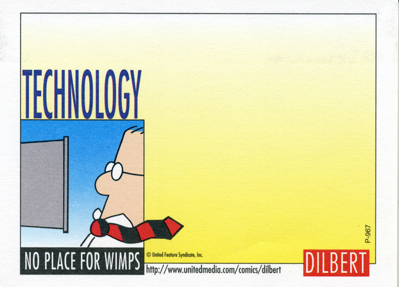 Technology - No place for wimps small.jpg
