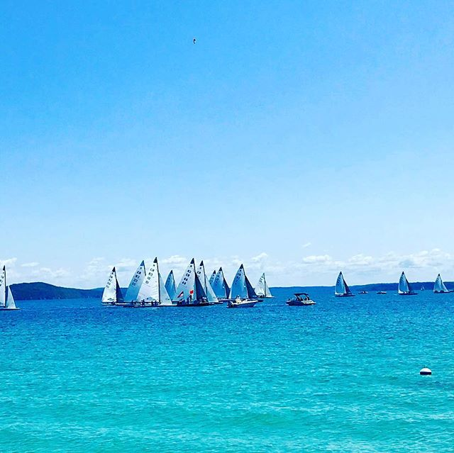 2018 Around the Lake Race. #oncearound #sailfast #beautifuldayforasail