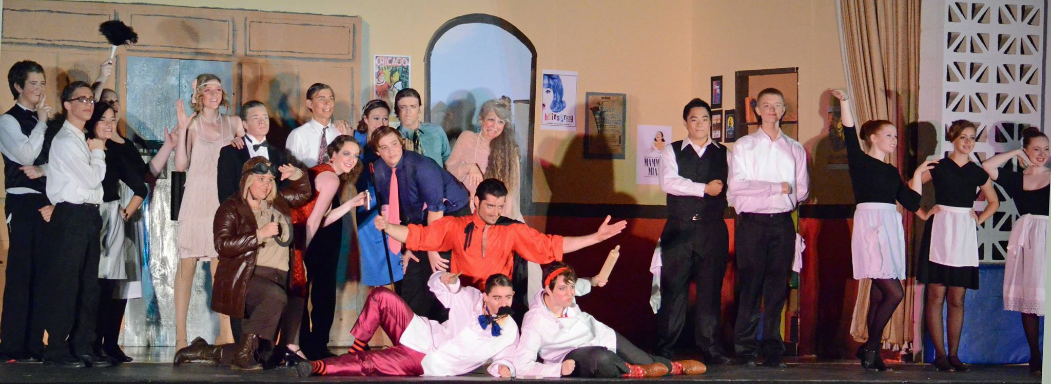 The cast of  the Drowsy Chaperone  Performs 'Fancy Dress'
