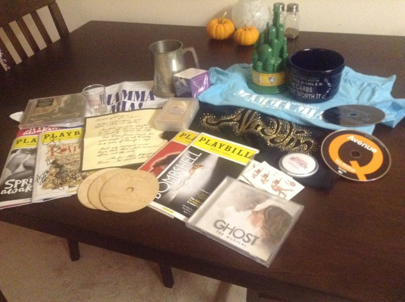 My loot from the day!