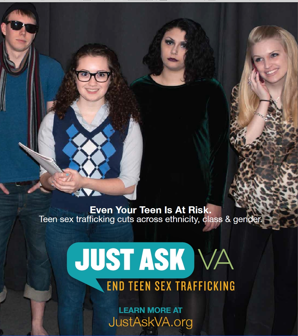 JustAskVA Your Teen at Risk for Trafficking