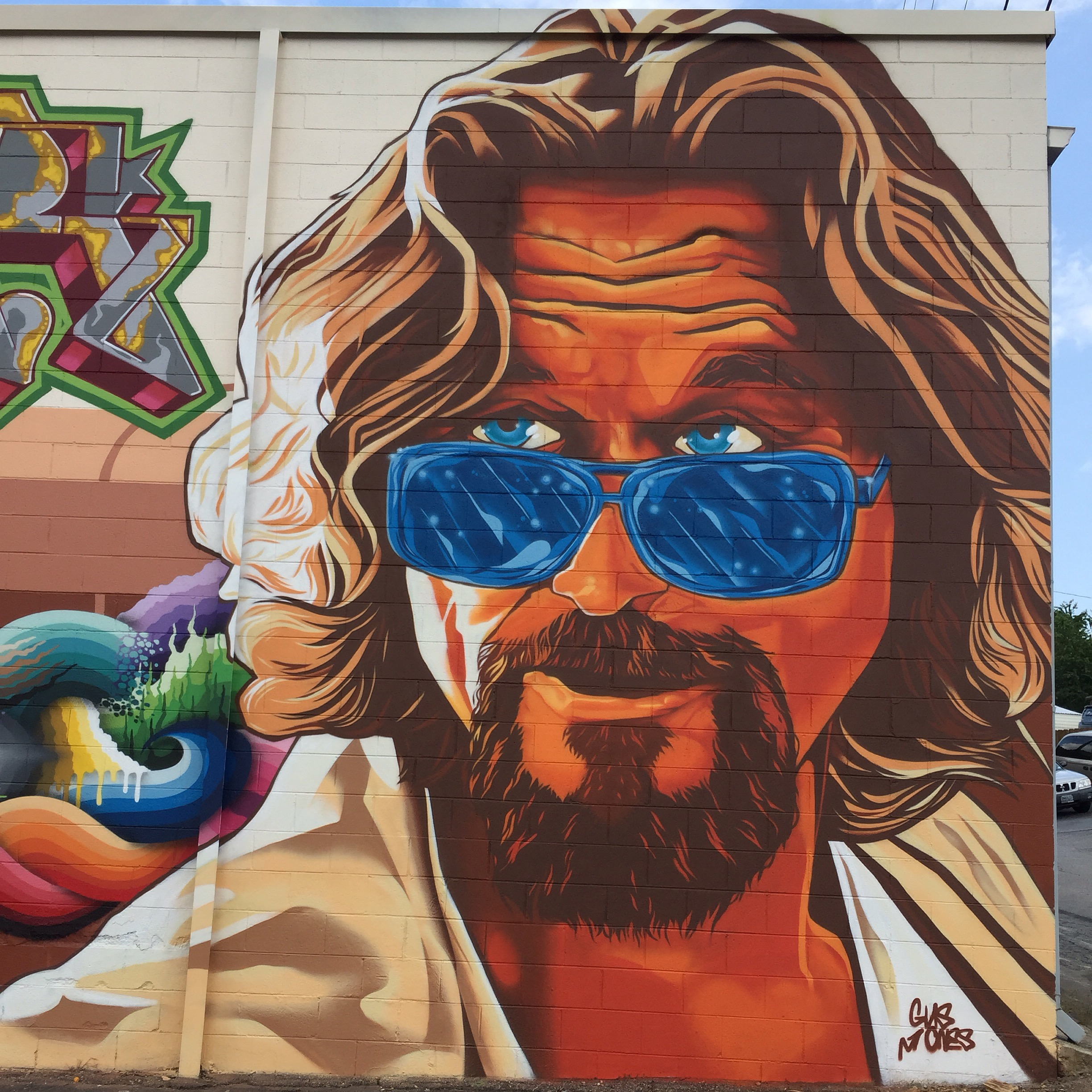 """The Dude"" for Burners and BBQ 2015 in Asheville, NC  2015"