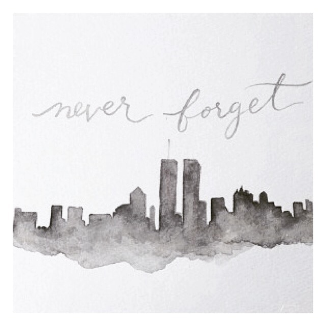 I have not forgotten that on 9/11, ordinary people because extraordinary heroes. ❤️ . . . #nyc #september11 #unitedwestand #keeping everyone in our hearts #grateful to live in the #usa