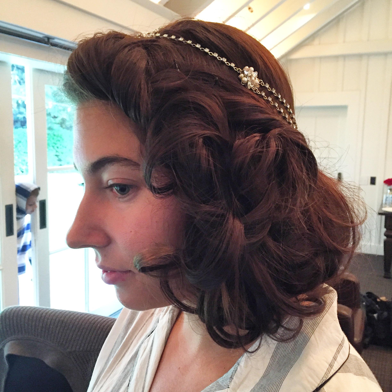 20's inspired hair.