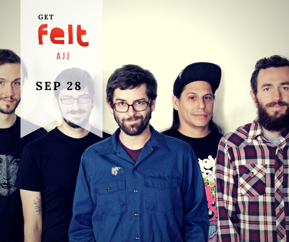 AJJ is coming to The Loving Touch tomorrow, September 28th! Tickets are still available, get them  here while you can!