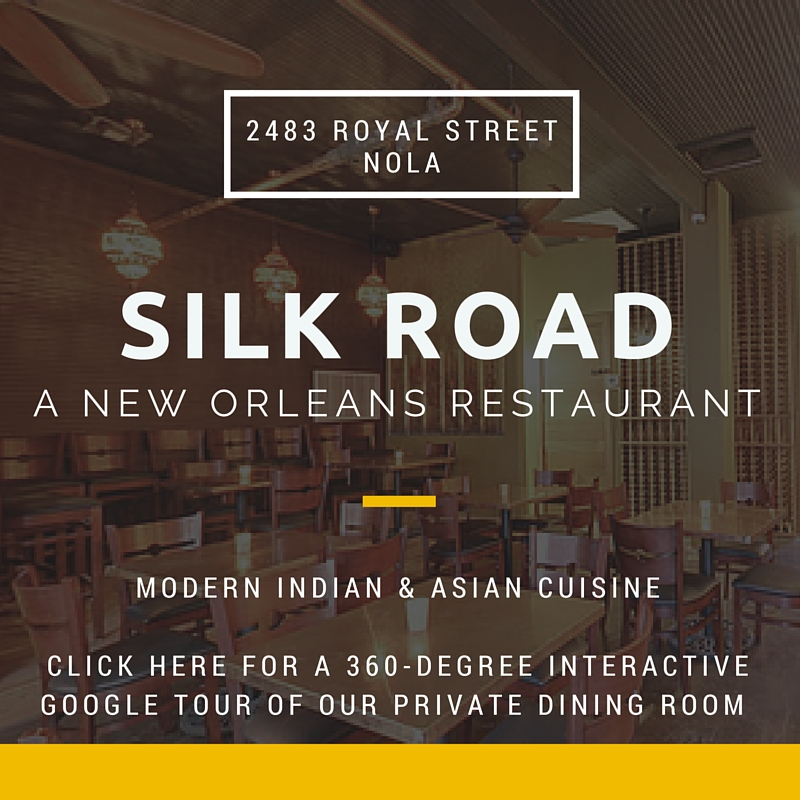 silk road indian and asian new orleans restaurant marigny back room tour