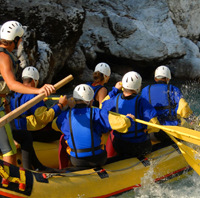 Whitewater Rafting See Details →