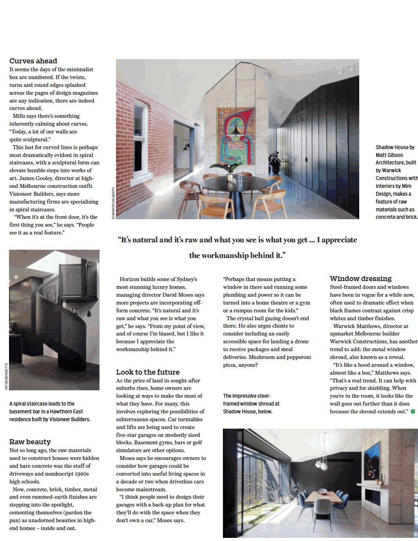 The Age Melbourne - Domain Magazine
