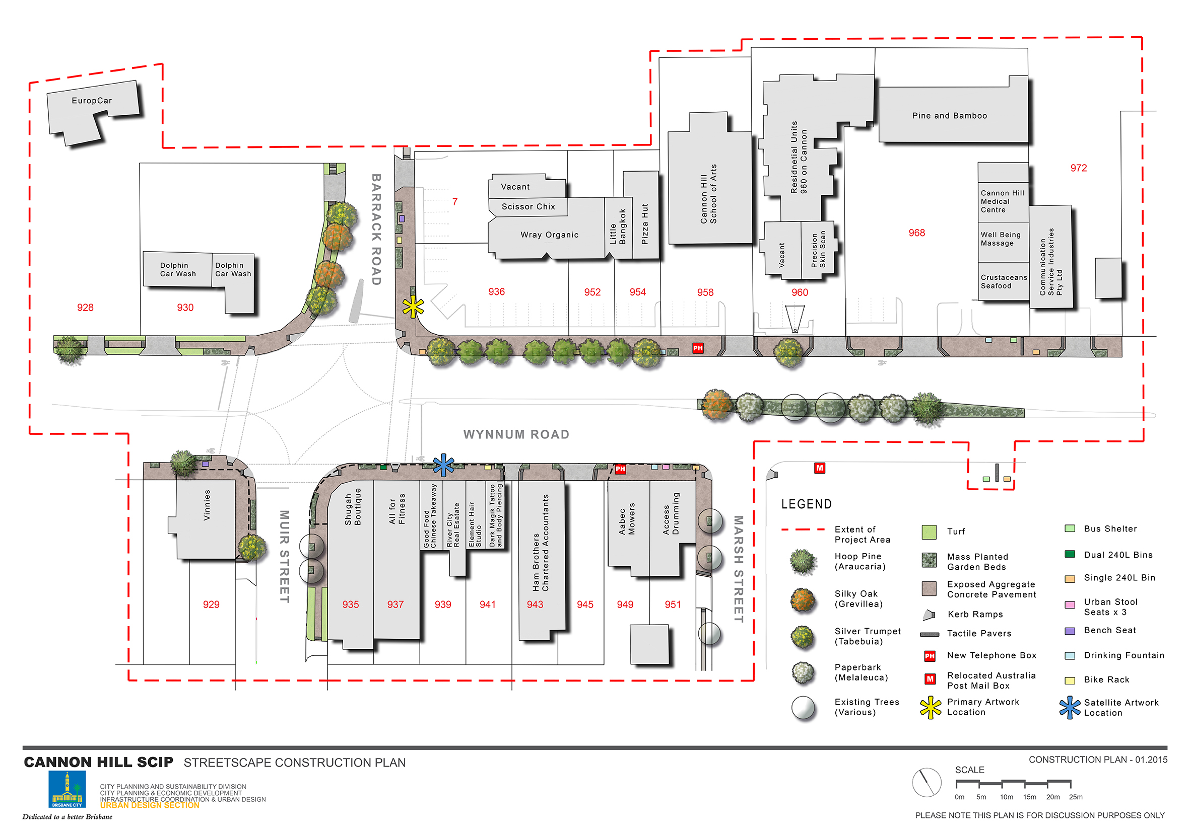 Construction Plan for the Cannon Hill SCIP