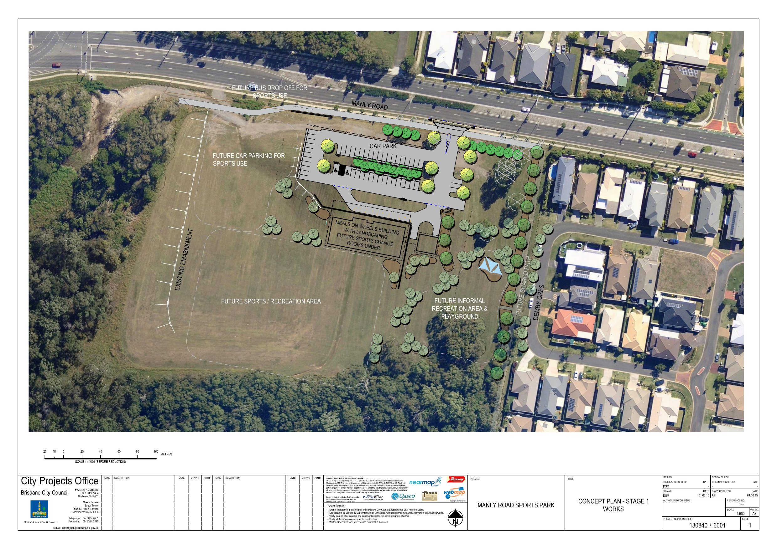 Concept of the Meals on Wheels construction for 880 Manly rd, Tingalpa