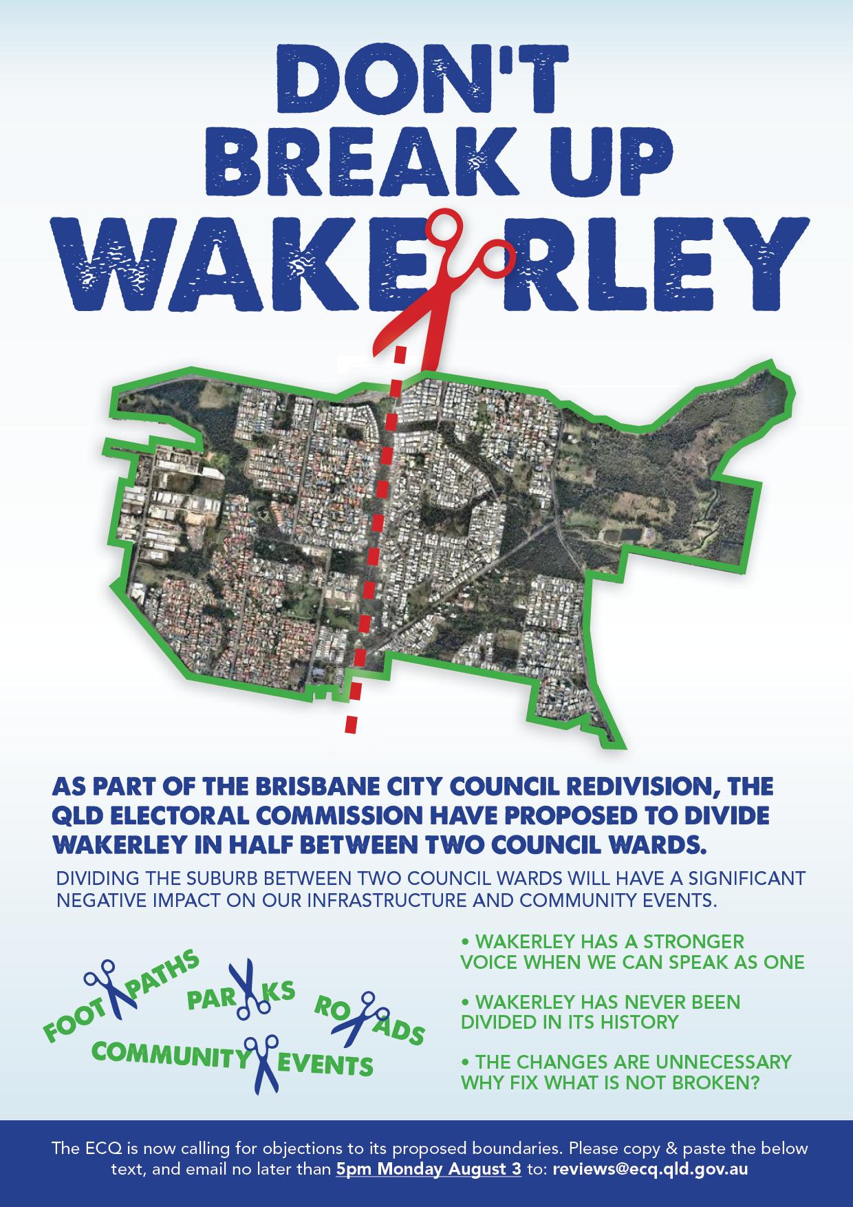 dont break up wakerley