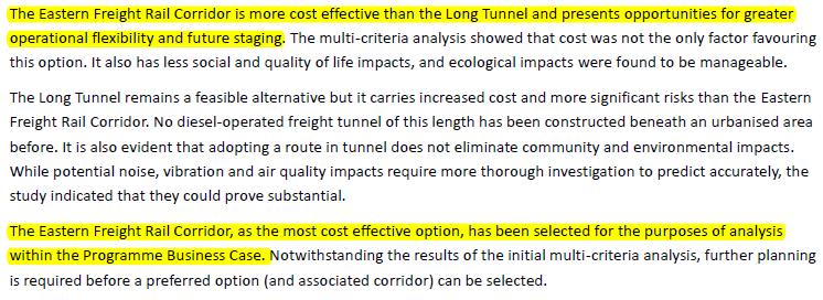 Source:Inland Rail Business CAse, ARTC (2015)