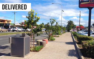 Cannon Hill SCIP  Invested $2.5M to improve the street-scape of Cannon Hill, including upgraded footpaths, lighting & artwork.