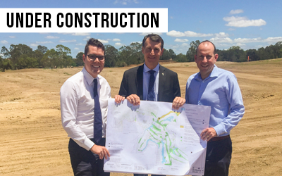 Cannon Hill Community Links   An 18-hole golf course for the eastern suburbs, now underway after decades of delays.
