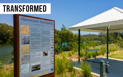 Bill Benham Parklands   Remediated a former dumping site in Hemmant to a $1.8M six-hectare fishing park for the community.