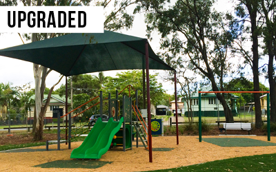 Vicki Wilson Playground  Provided a $80,000 upgrade to Vicki Wilson Park, improving amenity for local residents.