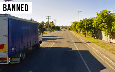 Queensport Road Truck Ban  Banned heavy vehicles from using Queensport Road between 8pm and 6am, providing residents peace and quiet.