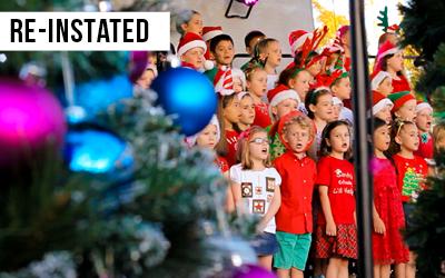 Wakerley Christmas Carols  Established Wakerley Christmas Carols Council in 2013 to bring back the annual Carols in Wakerley Park.