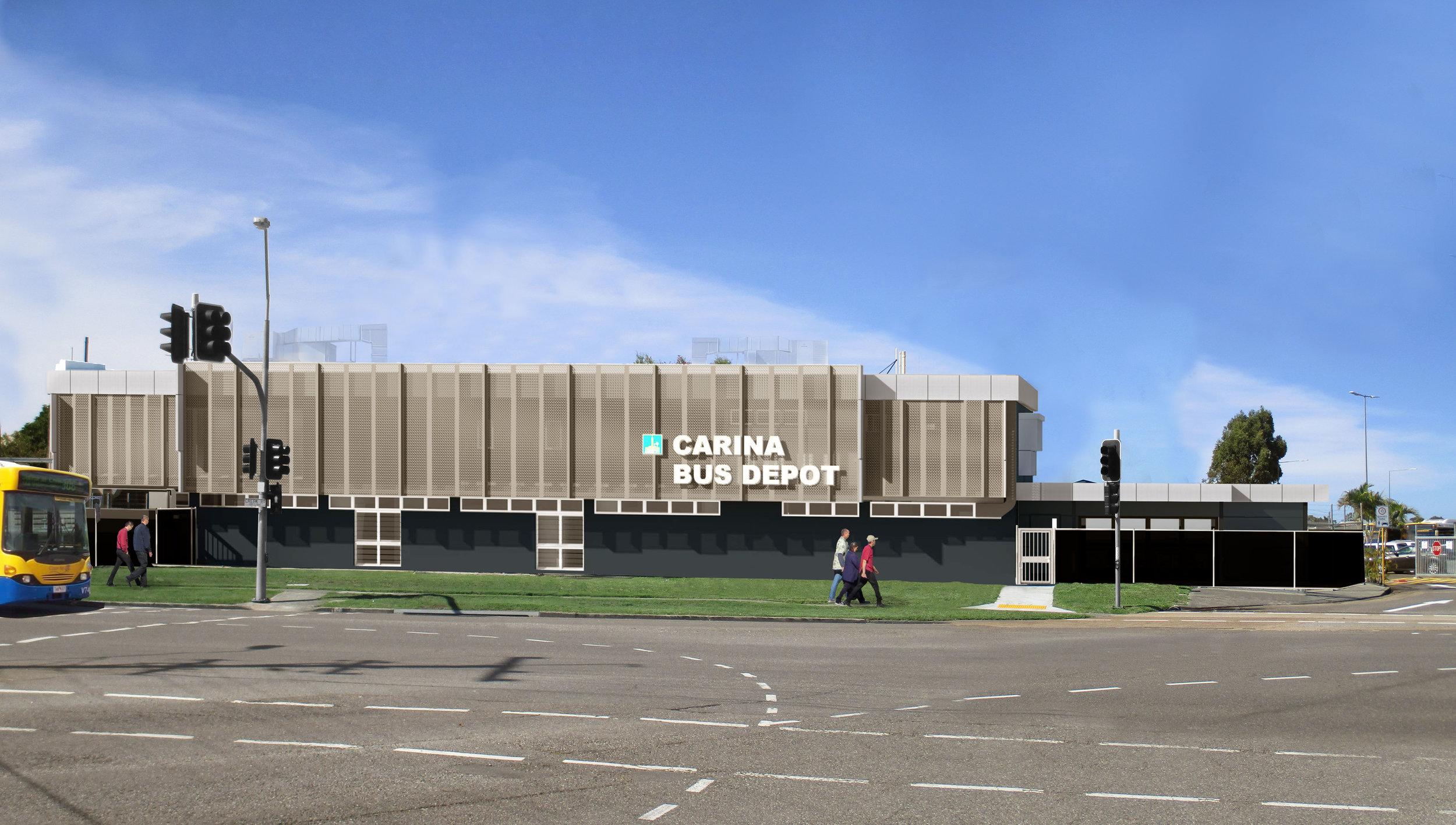 Carina Bus Depot Upgrade - Artist Impression