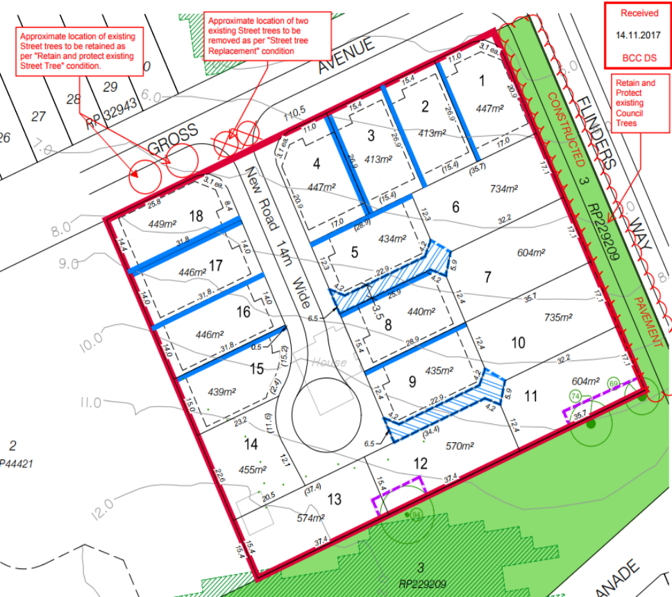 96 Gross Ave, Hemmant Sub-division plans (Application A004624663)