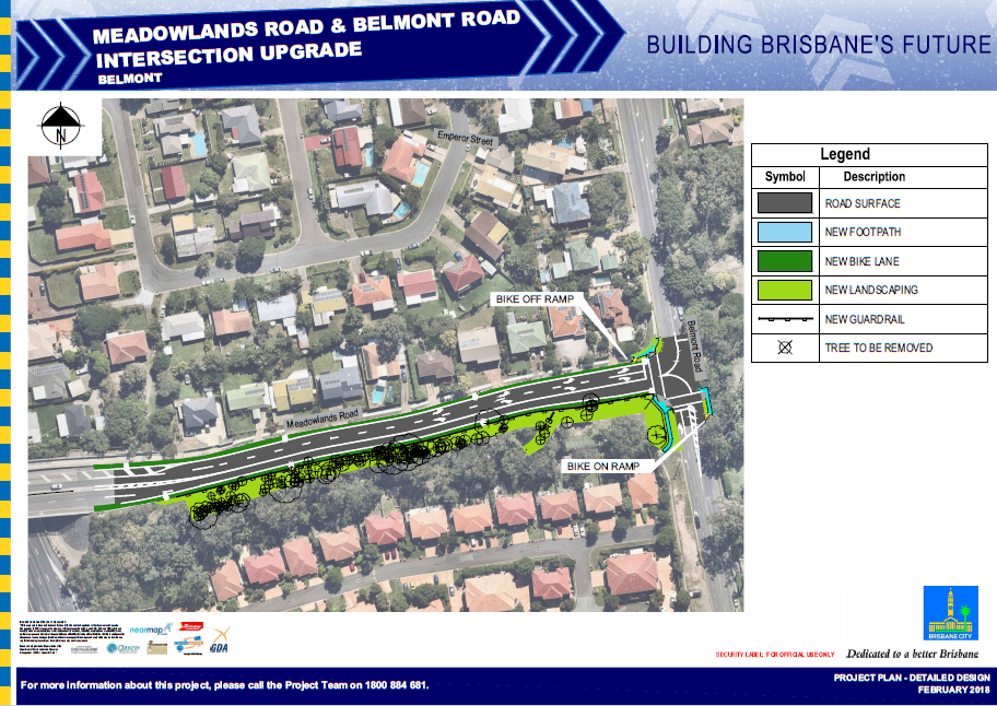 Meadowlands Rd & Belmont Rd Intersection Upgrade Plans