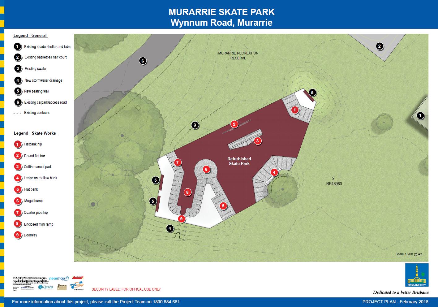 Murarrie Skate Park project plan - February 2018