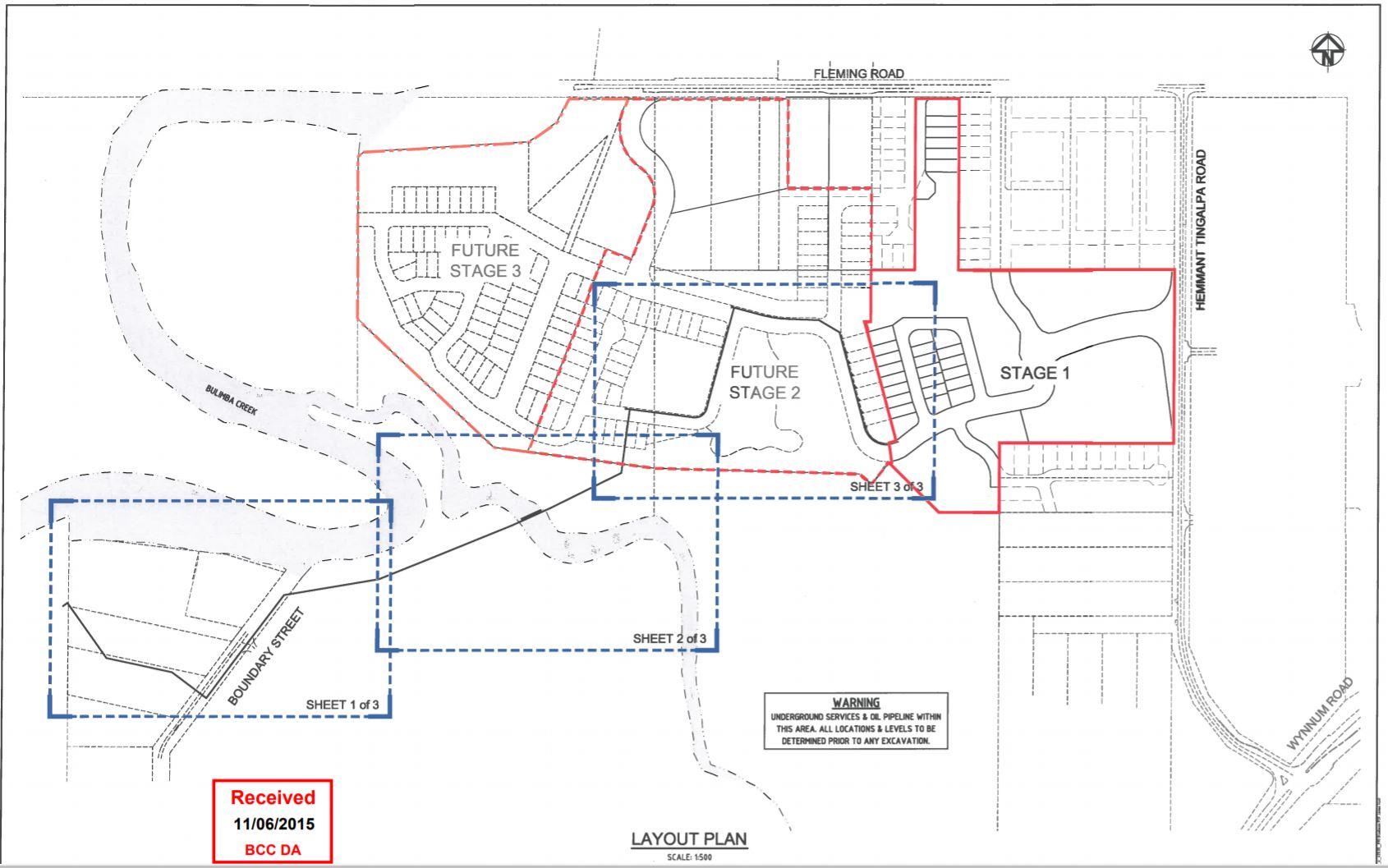 274 FLEMING RD TINGALPA QLD 4173 & 527 HEMMANT-TINGALPA RD TINGALPA QLD 4173 (Bulimba Creek Village)