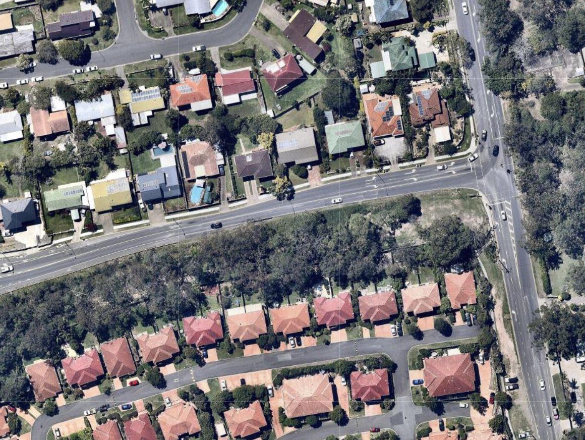 Meadowlands Road as it is today (Source: nearmap)