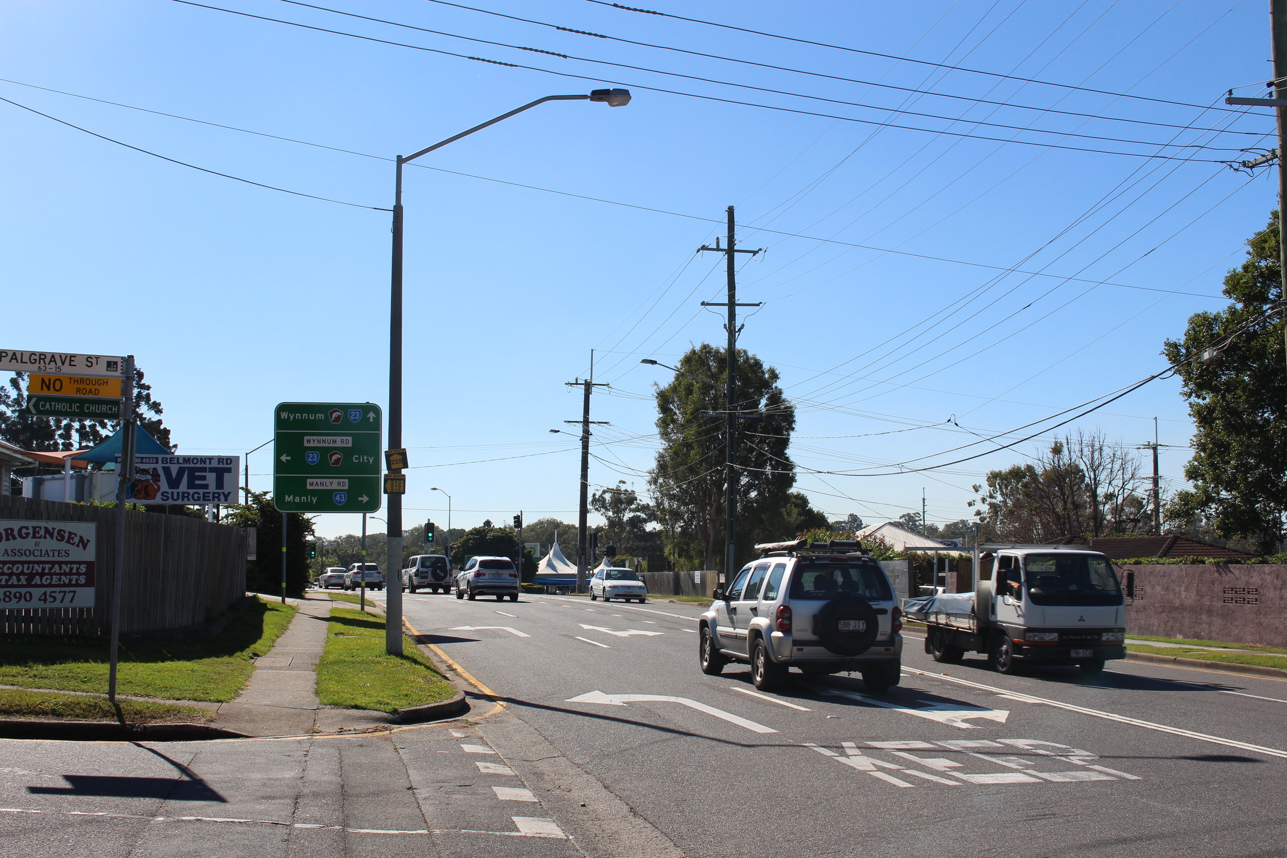 Intersection upgrade for belmont rd, wynnum rd & Manly rd, tingalpa (now complete)