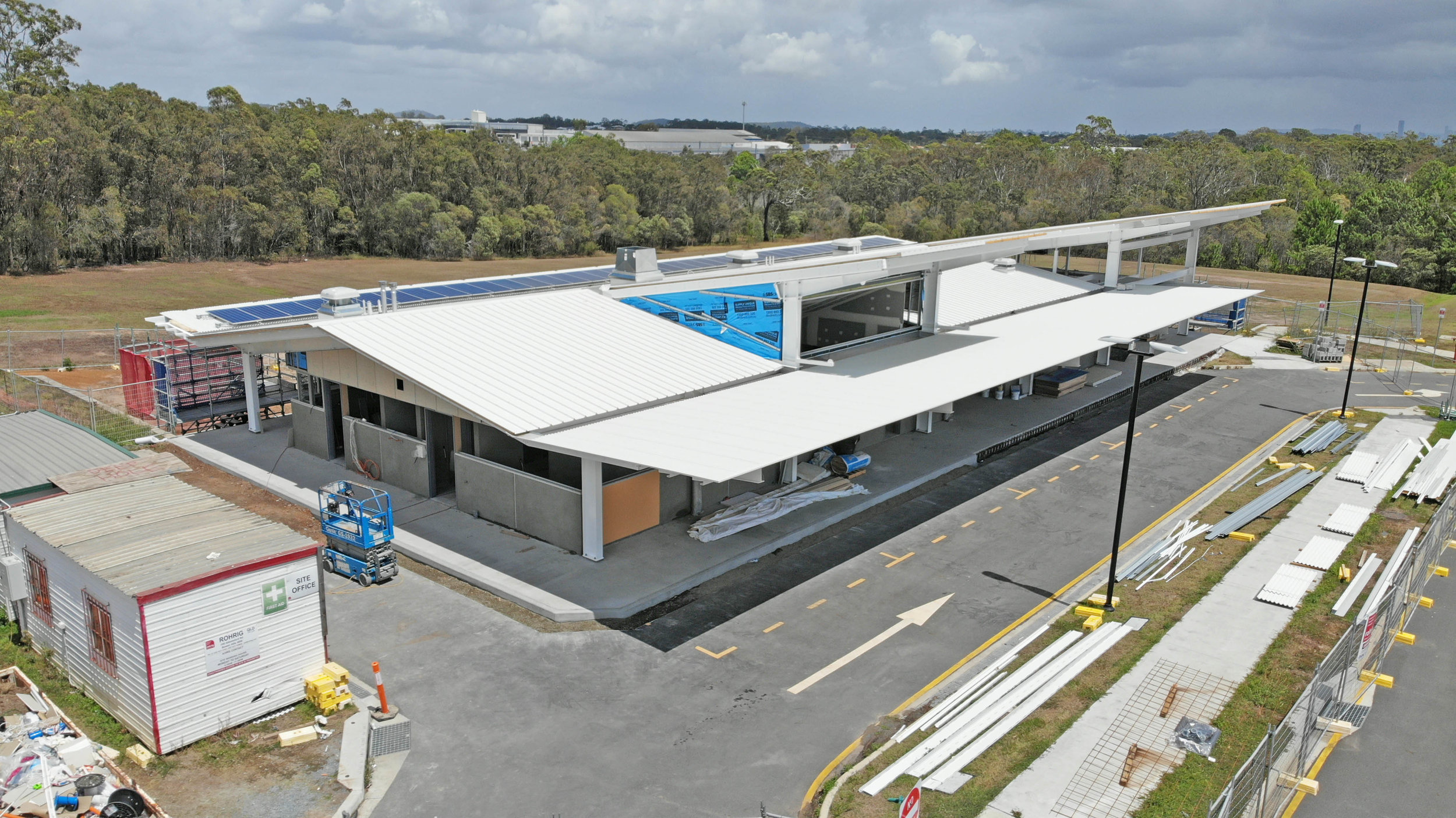Wynnum -Manly Meals on Wheels new Facility under Construction