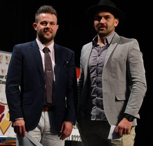 Dylan Smith (left), Zane Murphy