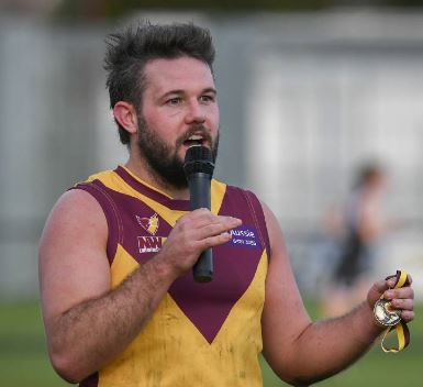 2019 Medal winner: Dylan Smith