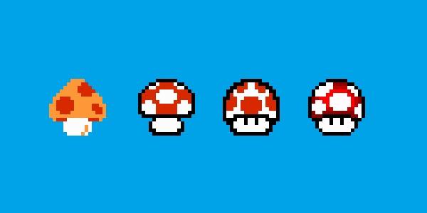 Mushrooms-Super-Mario-Nintendo